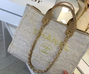 A large Chanel shopper
